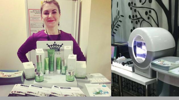 Руководитель одесского офиса DMK Ukraine Алина Аскевич выступила на III Симпозиуме по Anti-Age-Медицине и презентовала новый сервис DMK Ukraine