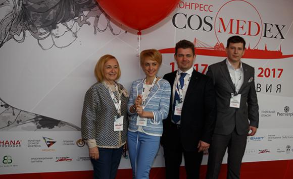 Команда DMK Ukraine на II межнациональном конгрессе CosMedEx 2017